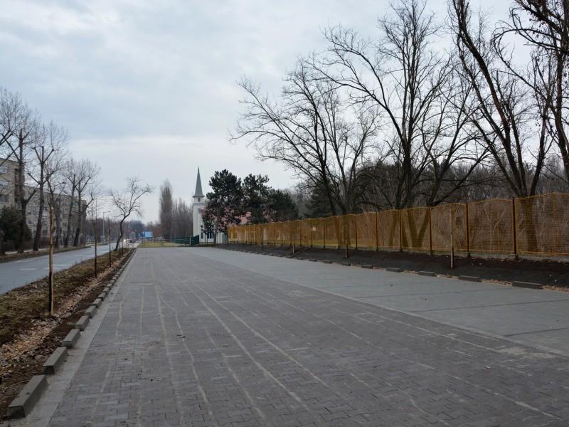 Új parkolókkal bővült a Benkó Zoltán Szabadidőközpont