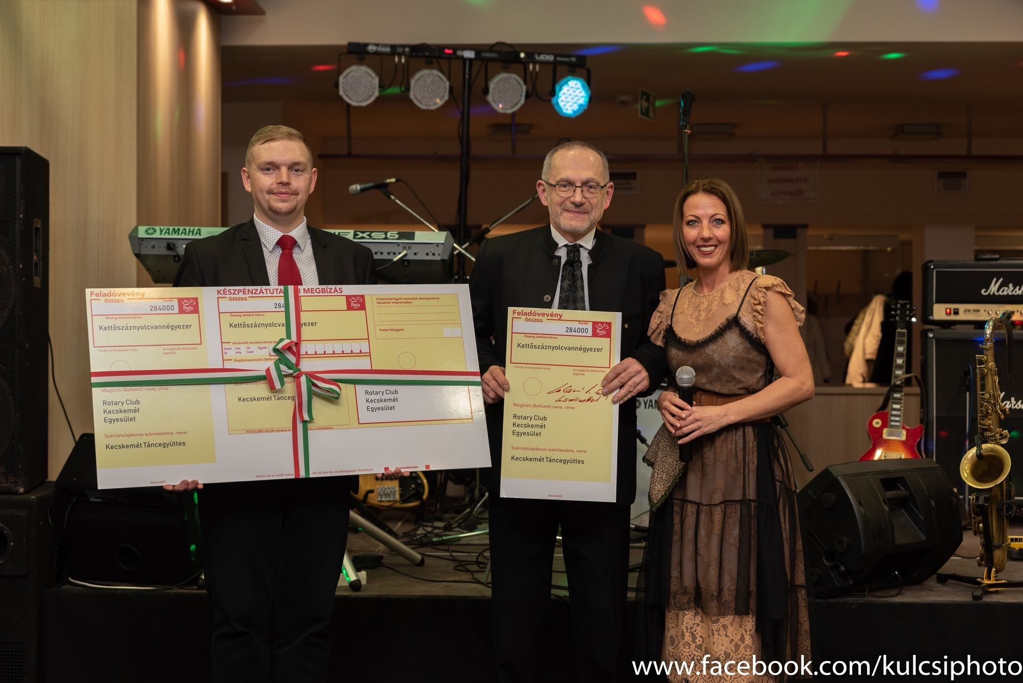 A Kecskeméti Táncegyüttes kapta a Rotary adományát