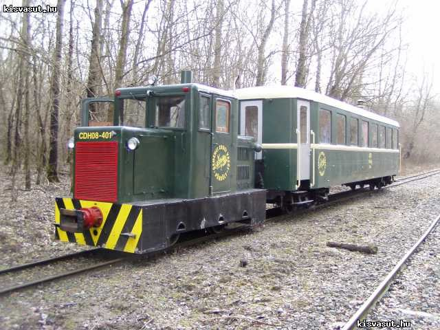 Elindult az első vonat a Gemenci erdőbe