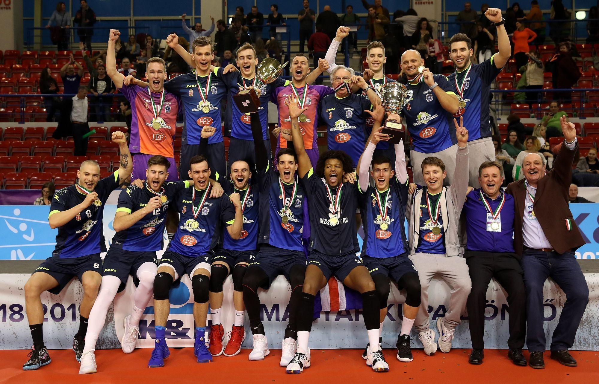 A Kecskeméti RC nyerte a férfi röplabda Magyar Kupát