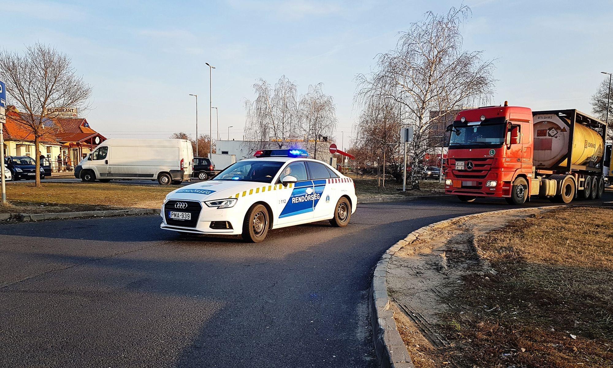 TISPOL Truck & Bus eredmények Bács-Kiskun megyében