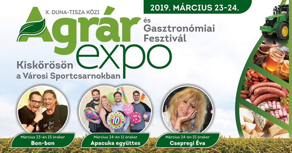 Idén jubilál a kiskőrösi Agrár Expo