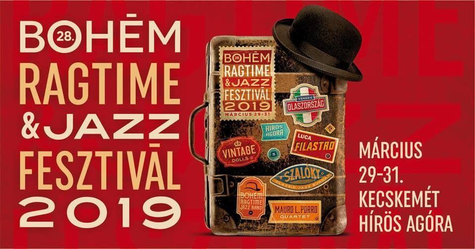 Március végén ismét megrendezik a Bohém Ragtime & Jazz Fesztivált