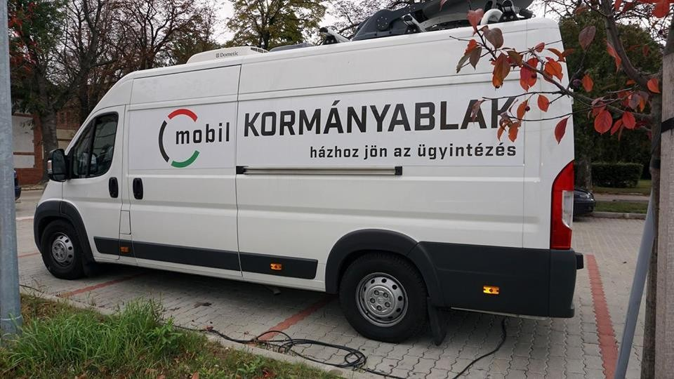 A Kiskunmajsai Járásban a kormányablak busz