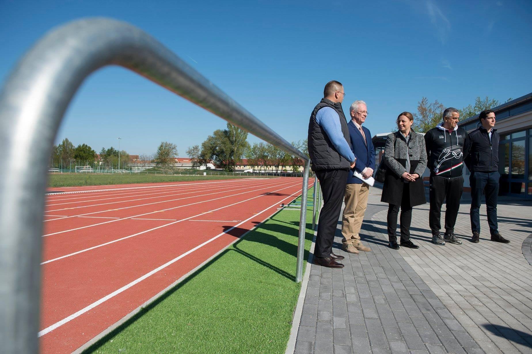 Elkészült a Kecskeméti Atlétikai Központ