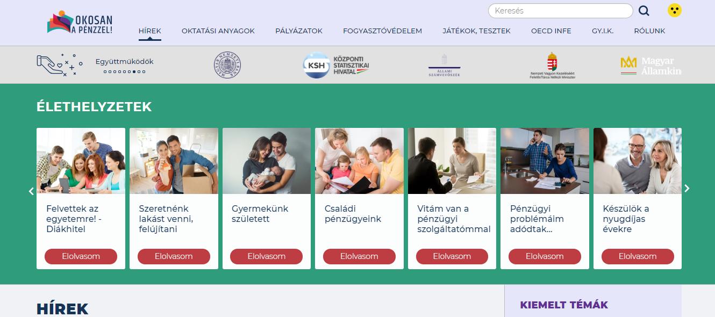 Hiánypótló honlap indult az alapvető pénzügyi ismeretekről