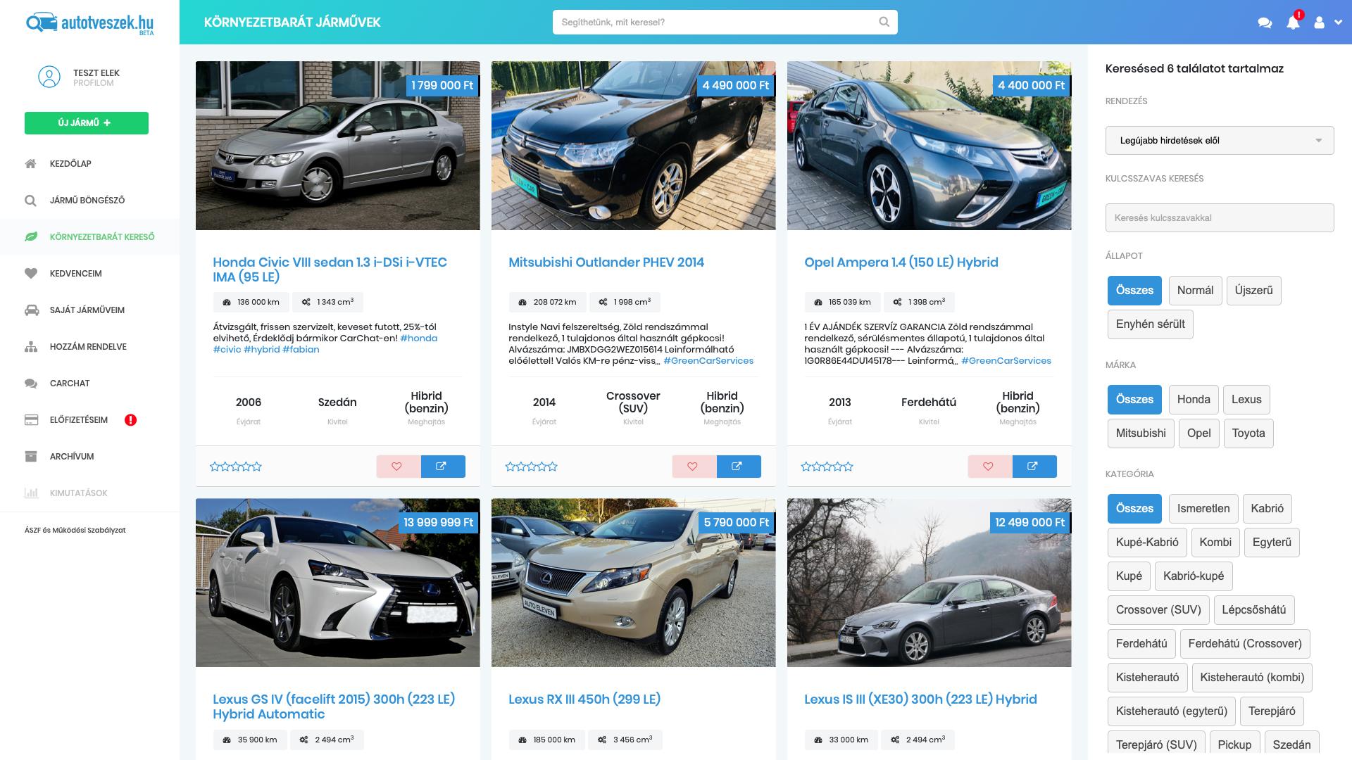 Már mobilappal is eladhatod az autódat