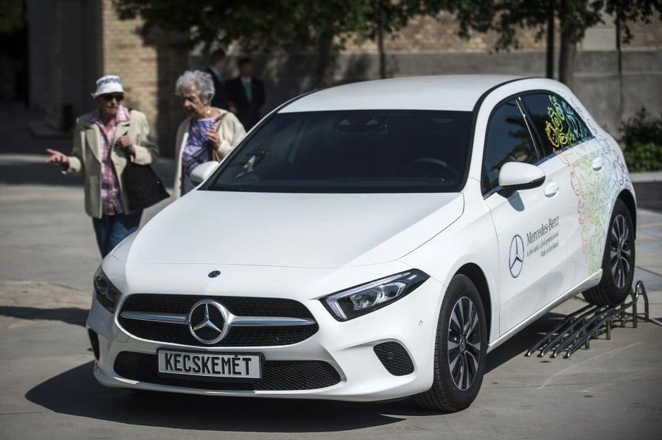 A Kecskeméten gyártott Mercedes modellek iránt növekedett a kereslet