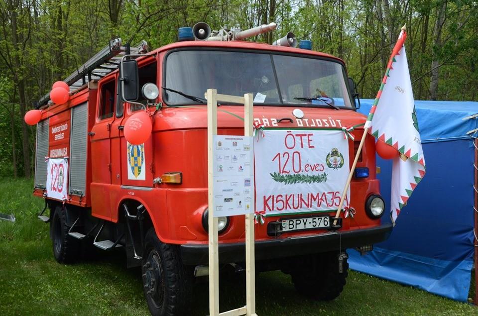 120 éves Kiskunmajsa Önkéntes Tűzoltó Egyesülete
