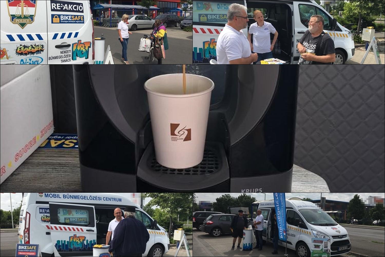 Police Coffee sorozat indult Bács-Kiskun megyében is