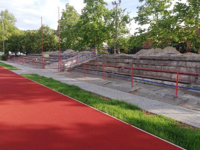 Tovább épül, szépül a Horváth István Sporttelep Kiskunmajsán
