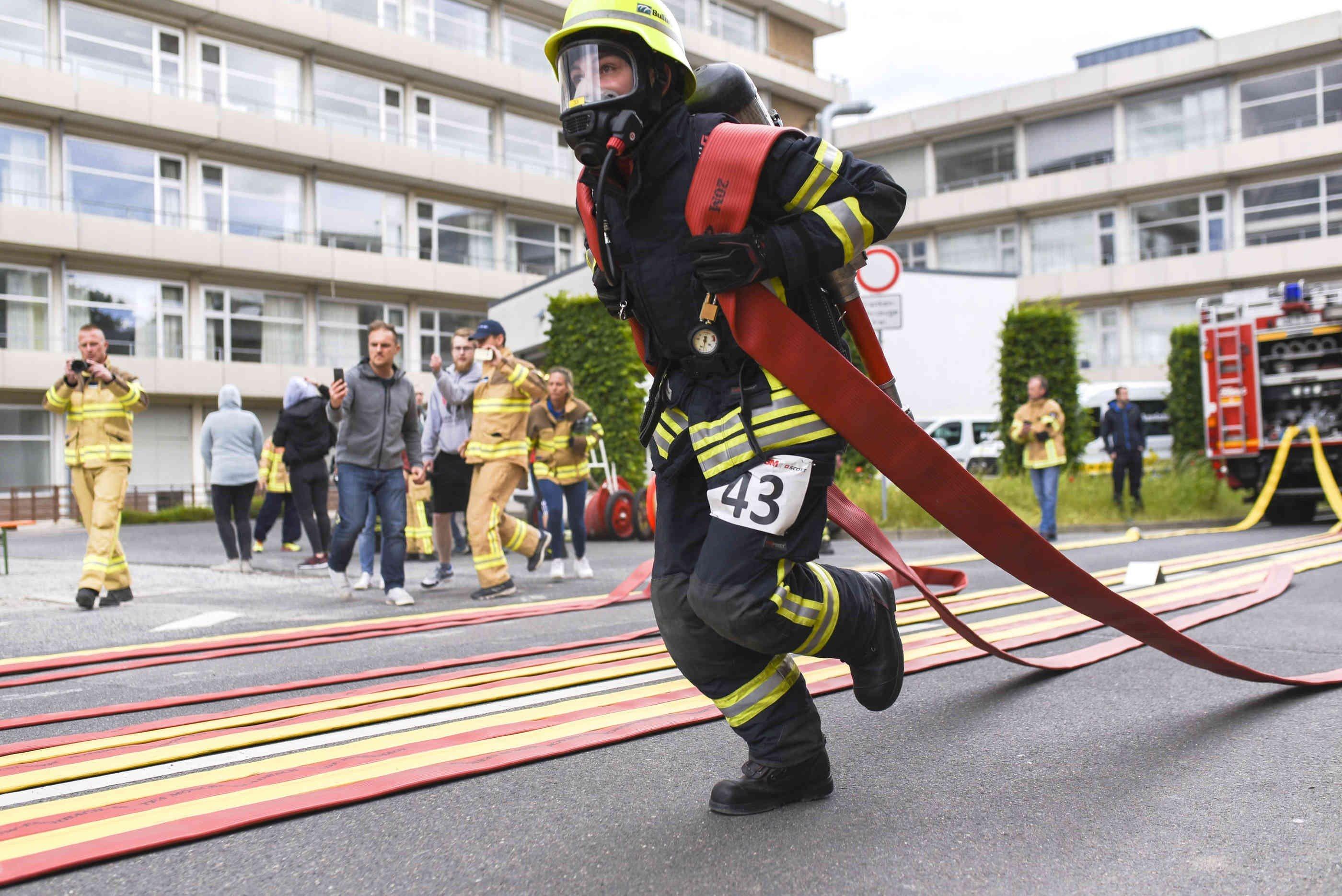 Bács-Kiskun megyei lett a legerősebb magyar hivatásos tűzoltó