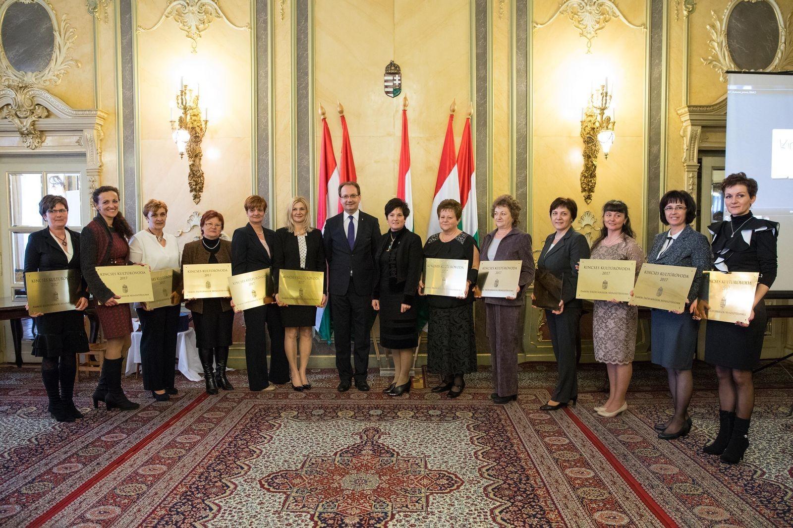Két baranyai óvoda is elnyerte a Kincses Kultúróvoda 2017 címet