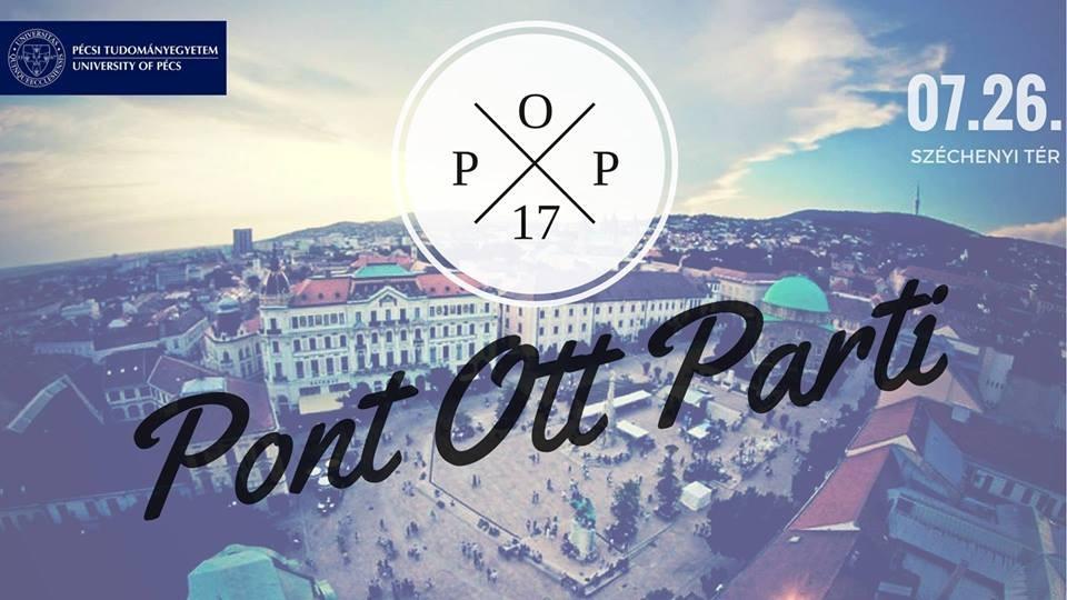 Idén Pécsen is lesz ponthatárváró buli