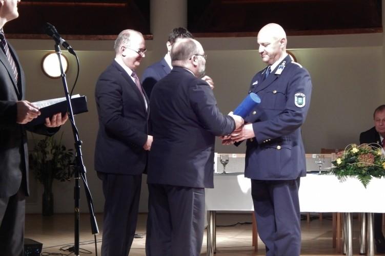 Megyei díjat kapott a rendőrfőkapitány-helyettes Szigetváron