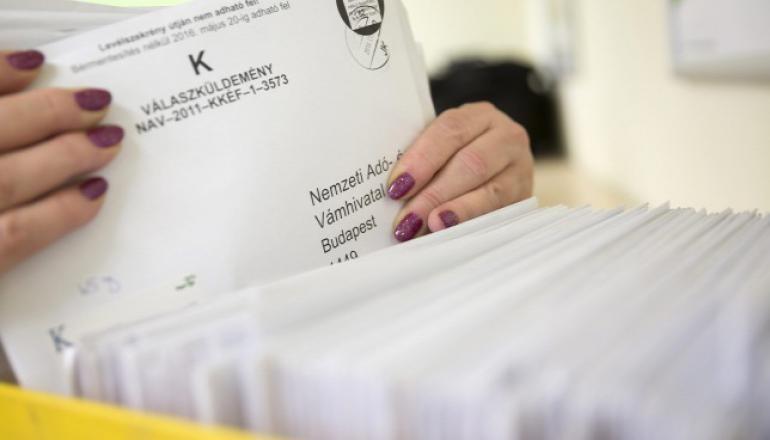 Március 19-ig igényelhető az adóbevallás tervezetének postázása