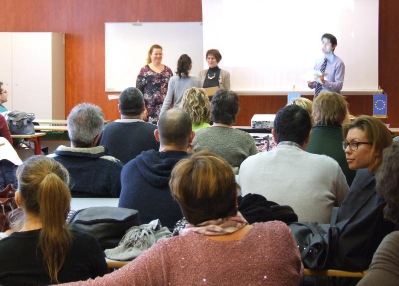 Oklevélátadó ünnepség a PTE belső nyelvi képzésén