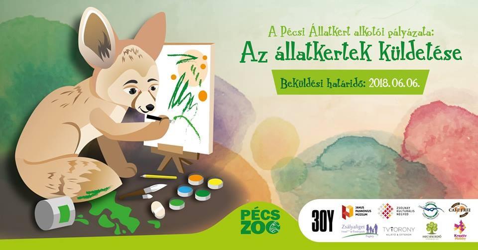 A Pécsi Állatkert alkotói pályázata - Az állatkertek küldetése