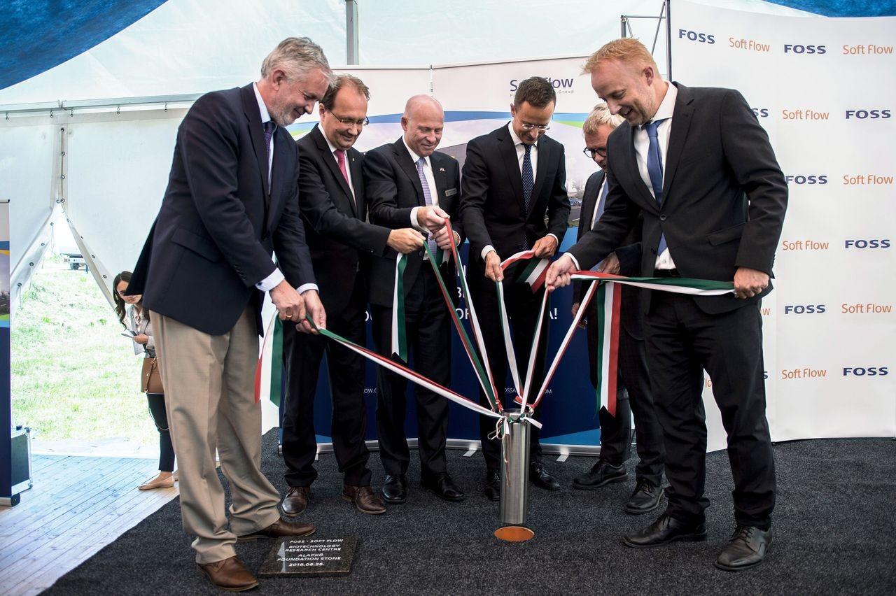 A dán Foss biotechnológiai vállalat pécsi létesítését támogatja a kormány