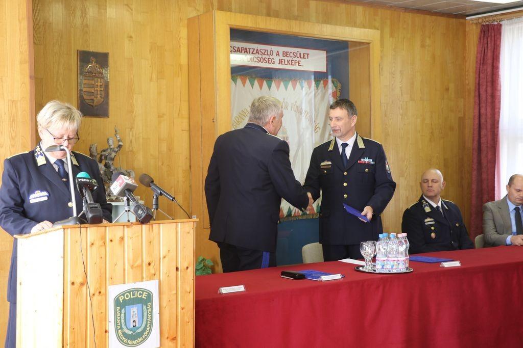 Új vezető a Baranya és a Csongrád megyei rendőr-főkapitányság élén