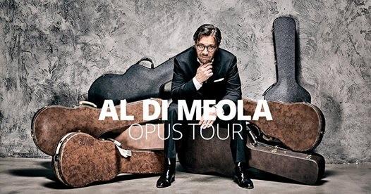 Al Di Meola ad koncertet márciusban a pécsi Kodály Központban