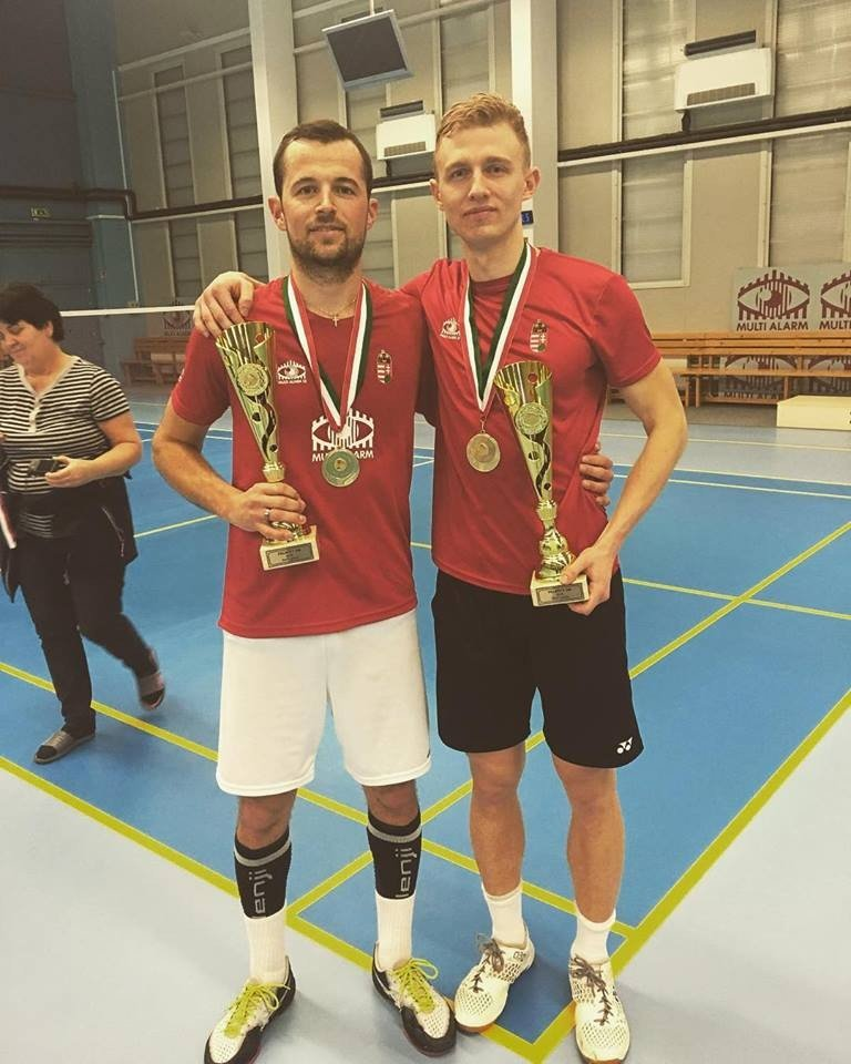 Tollaslabda ob - Krausz Gergely sorozatban hatodszor lett bajnok Pécsett