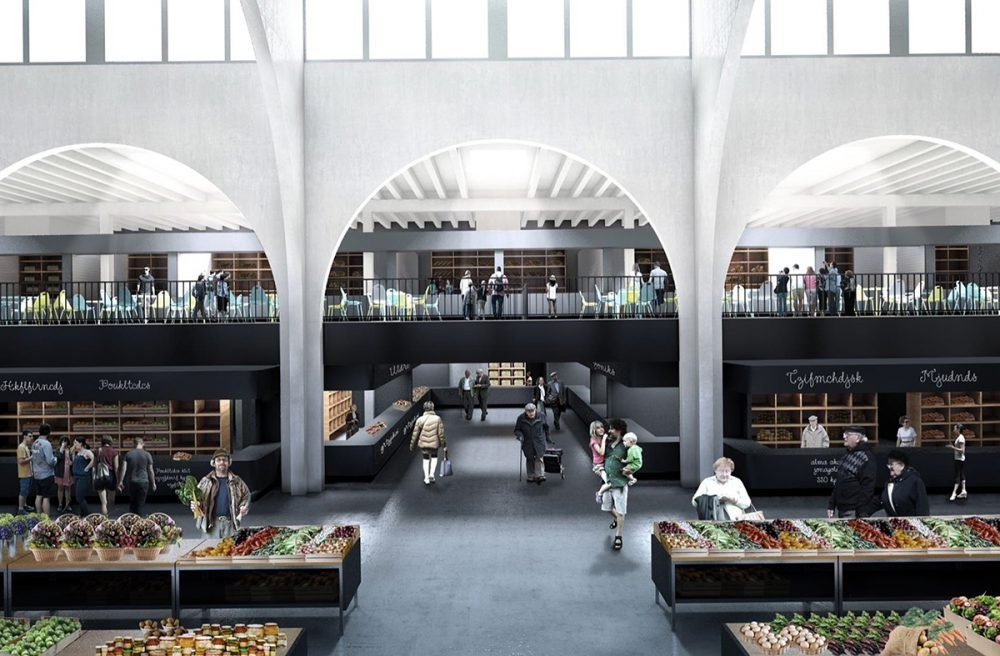 Tetőparkolóval épít új vásárcsarnokot Mohács