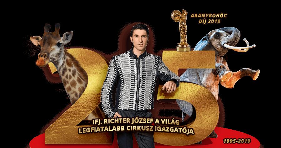 Pécsett is bemutatja gálaműsorát a 25 éves Magyar Nemzeti Cirkusz
