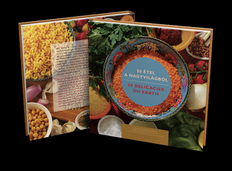 Különleges szakácskönyvet adott ki a Pécsi Tudományegyetem