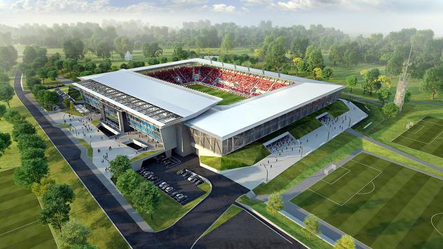 Az új székesfehérvári Sóstói Stadion 2017 júniusára készül el