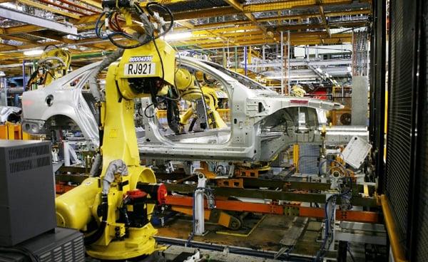 Júliusban nőtt a német ipari termelés