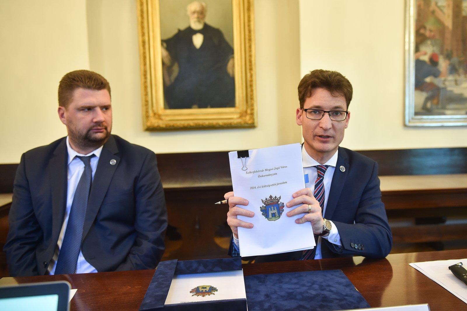 Költségvetés 2016 - Soha nem látott mértékű fejlesztések Fehérváron