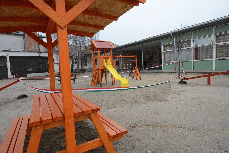 A közösség  összefogásával készült el a játszótér