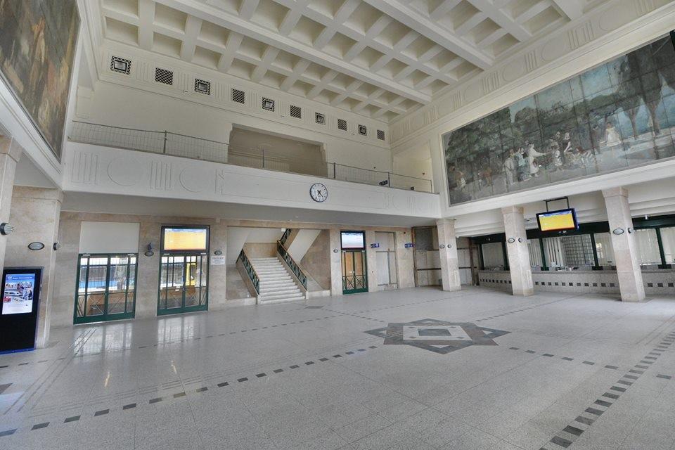 Mától újra nyitva a fehérvári vasútállomás utascsarnoka
