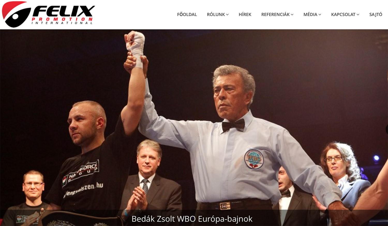 Újra Székesfehérváron rendez profi bokszgálát a Félix Promotion