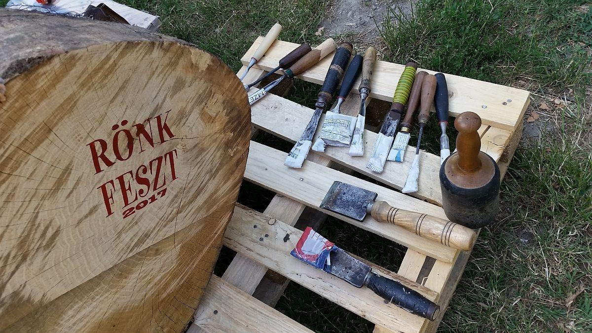 Egy héten át tartó fafaragás veszi kezdetét Székesfehérváron