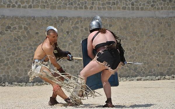Dunaújvárosban láthatjuk hazánk legjobb gladiátorait