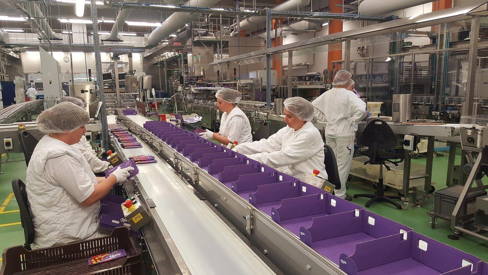 Székesfehérváron gyártják a Milka új termékét