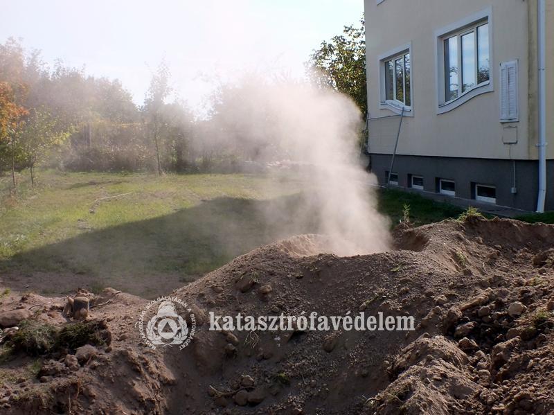 Szivárgott a földgáz Székesfehérváron