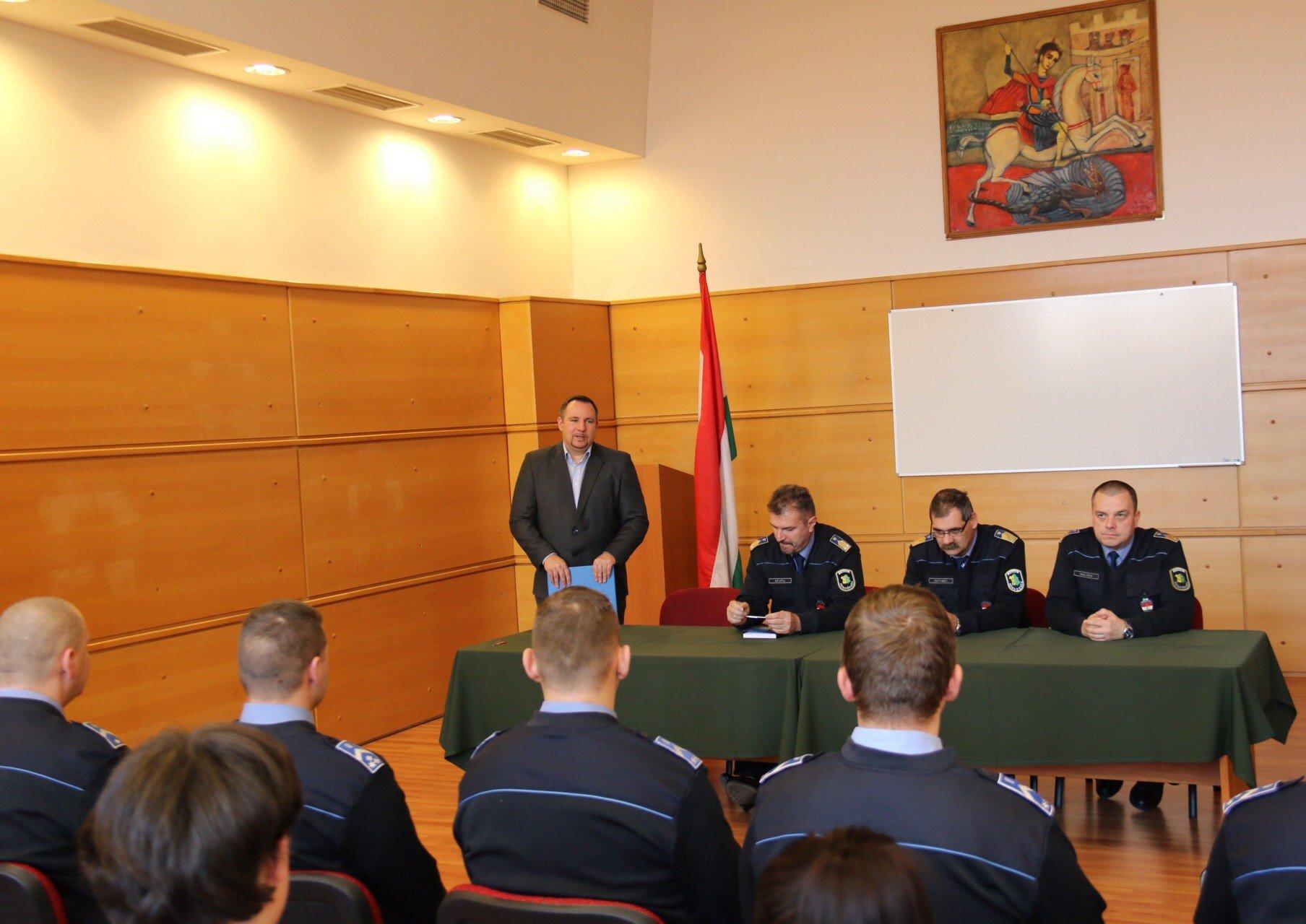 Változások a körzeti megbízotti állományban Dunaújvárosban