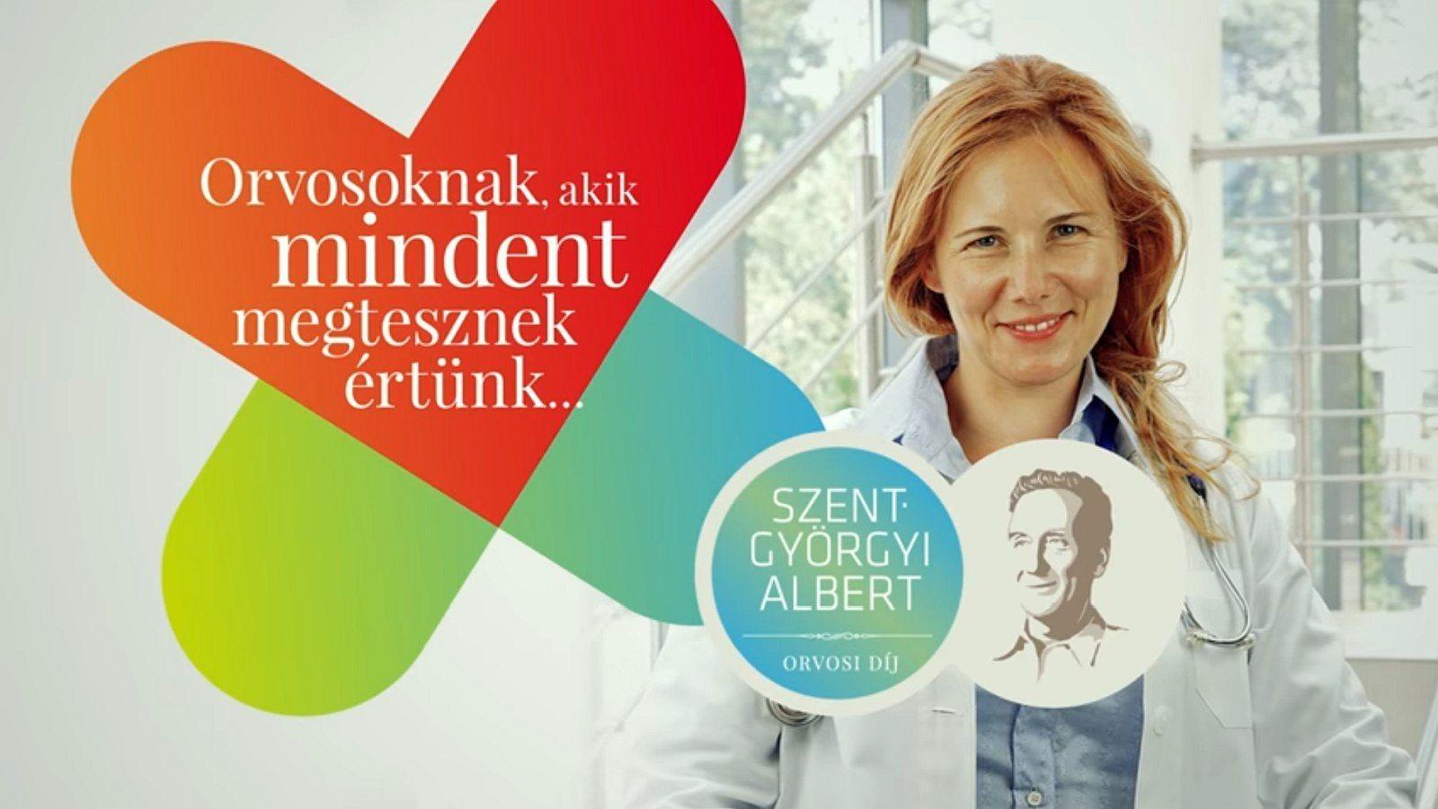 Szent-Györgyi Albert Orvosi Díj - fehérvári orvosokra is szavazhatunk