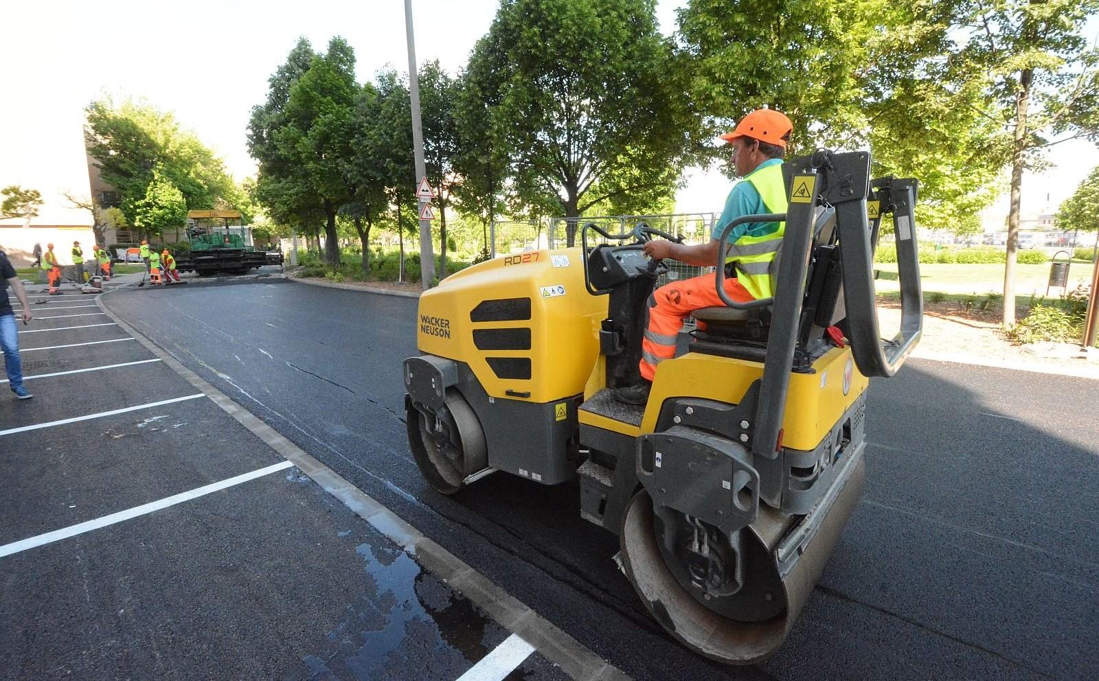 Megannyi út-, járda-, park- és parkolóépítést is tartalmaz a fehérvári Városgondnokság üzleti terve