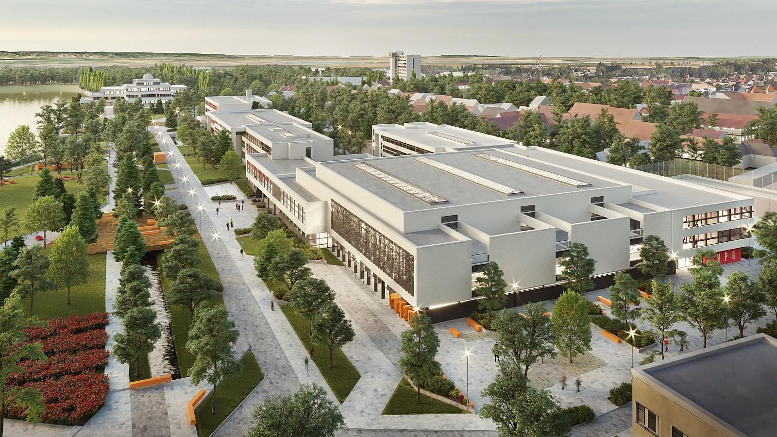 Maketten a tervek - ilyen lesz Fehérvár új középiskolai kampusza