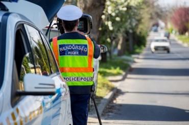 Országos sebességellenőrzési akció lesz a jövő héten