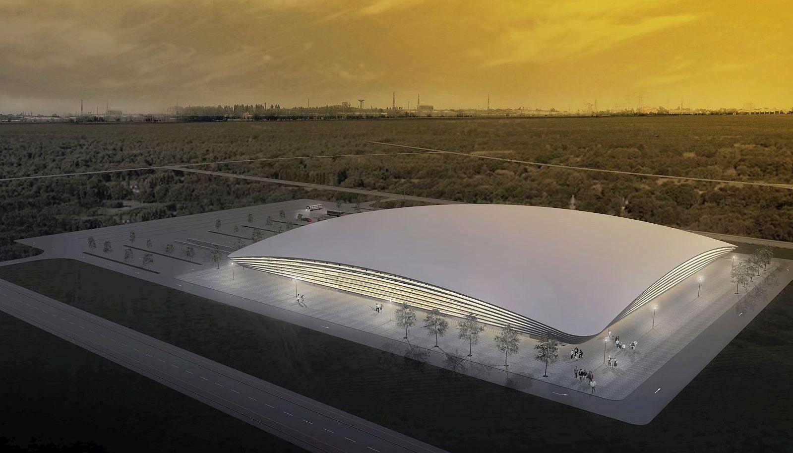 Alba Aréna - másfél év alatt épülhet meg az új fehérvári multifunkciós csarnok