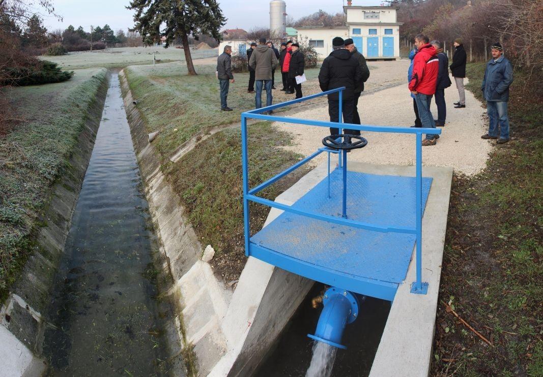 Vízelvezetéssel védik a Fehérvárnak is kulcsfontosságú csóri vízbázist