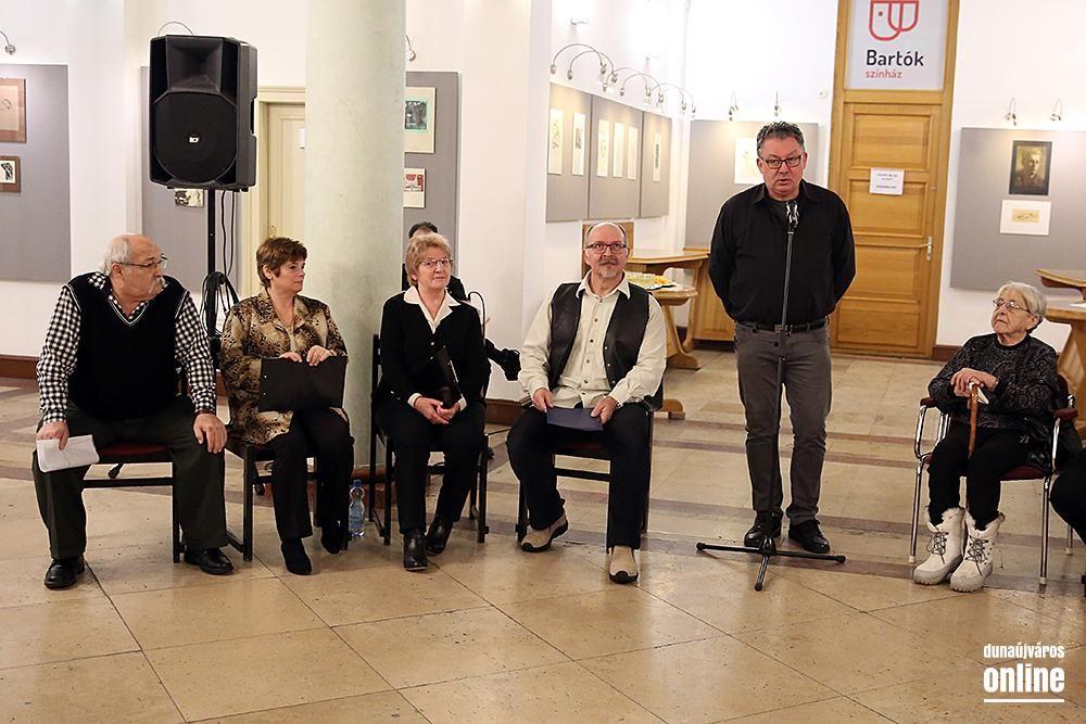 Megnyílt az év első kiállítása Dunaújvárosban