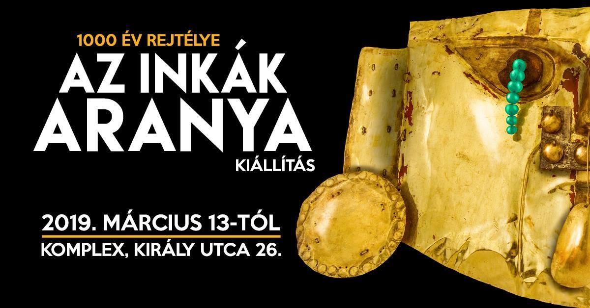 Márciusban érkezik Budapestre Az inkák aranya című kiállítás