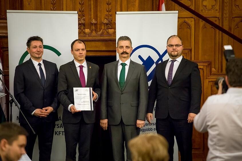 Energiahatékony Önkormányzat díjat nyert Bicske