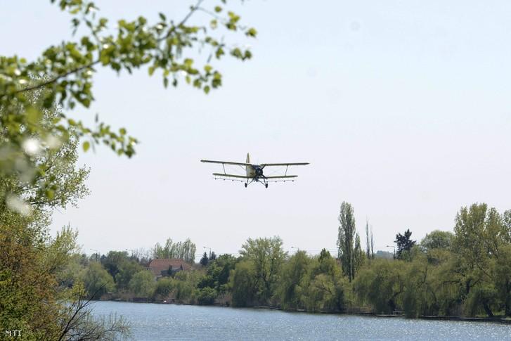 Katasztrófavédelem: a Velencei- és a Tisza-tónál is irtják a szúnyogokat